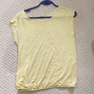 Loft Women's T-shirt Pollka Dot Summer T-Shirt!